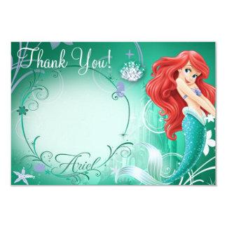 """Ariel le agradece las tarjetas invitación 3.5"""" x 5"""""""