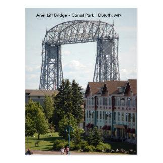 Ariel Lift Bridge, Ariel Lift Bridge - Canal Pa... Postcard