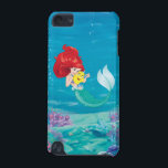 "Ariel | Make Time For Buddies iPod Touch 5G Case<br><div class=""desc"">Disney Princesses are empowered heroines who dream,  create and celebrate magical adventures! They help inspire young girls to see how brave,  strong and fearless they are. These princesses focus on their friendships and embracing adventure.</div>"