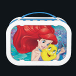 """Ariel   Make Time For Buddies Lunch Box<br><div class=""""desc"""">Disney Princesses are empowered heroines who dream,  create and celebrate magical adventures! They help inspire young girls to see how brave,  strong and fearless they are. These princesses focus on their friendships and embracing adventure.</div>"""