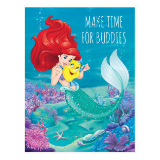 Ariel | Make Time For Buddies Postcard