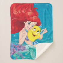 Ariel | Make Time For Buddies Sherpa Blanket