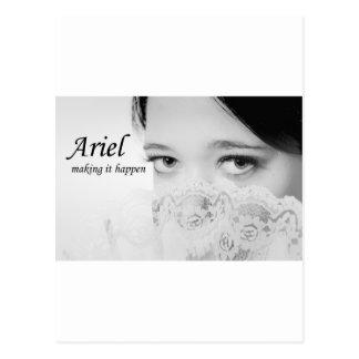 Ariel - Making it happen Postcard
