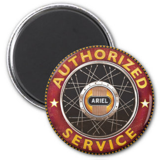 ariel Motorcycles 2 Inch Round Magnet