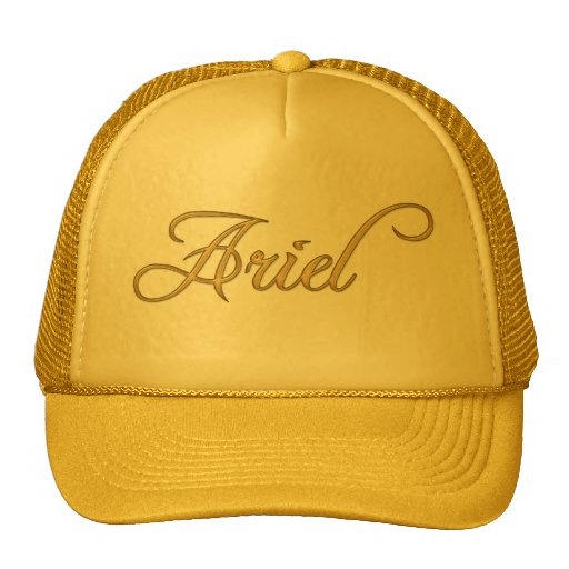ARIEL Name-Branded Personalised Fashion Cap Hat