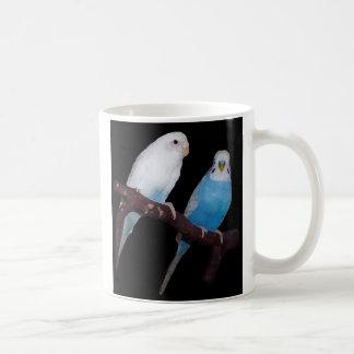 Ariel Oscar budgies mug