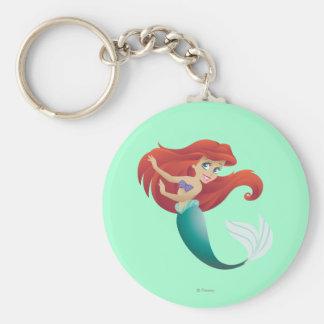 Ariel Posing Keychain