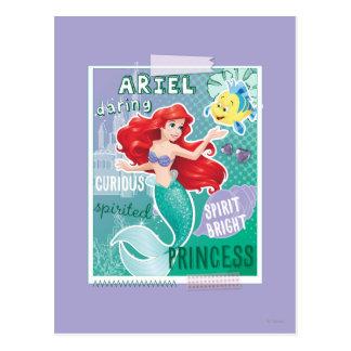 Ariel - princesa brillante del alcohol postales