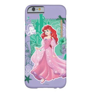 Ariel - princesa enérgica funda de iPhone 6 barely there