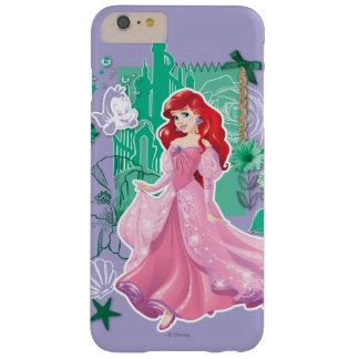 Ariel - princesa enérgica funda para iPhone 6 plus barely there