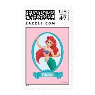 Ariel Princess Postage Stamp