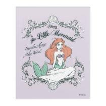 Ariel | Sparkles Always Make Waves Acrylic Print