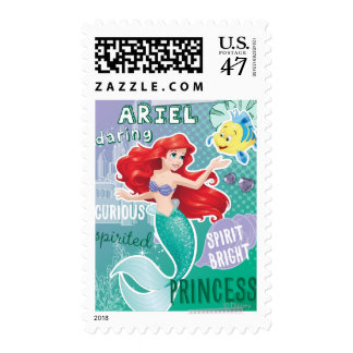 Ariel - Spirit Bright Princess Postage