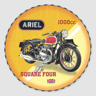 Bsa Motorcycle Stickers Zazzle - Classic motorcycle custom stickers