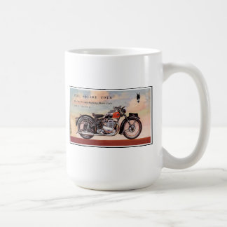 Ariel square four vintage motorcycle coffee mug