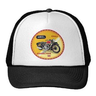 Ariel square four vintage motorcycle trucker hat