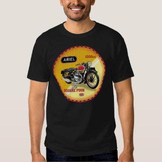 Ariel square four vintage motorcycle tee shirt