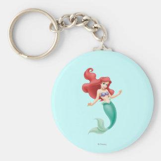 Ariel Swimming Keychain