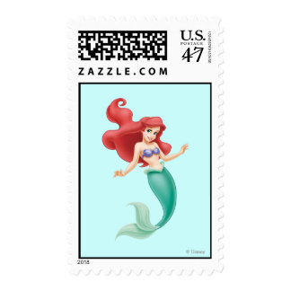 Ariel Swimming Postage