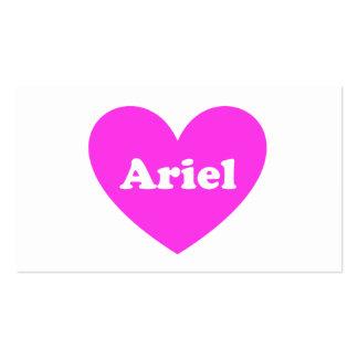 Ariel Tarjeta De Visita