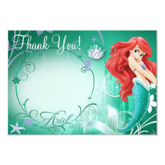 "Ariel Thank You Cards 3.5"" X 5"" Invitation Card"