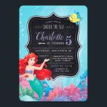 "Ariel | The Little Mermaid | Chalkboard Birthday Invitation<br><div class=""desc"">Invite all your friends and family to your Little Mermaid themed birthday celebration with these super cute Birthday invitations.</div>"