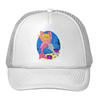 Ariel the Pink Merfaery and Dolphin Hat