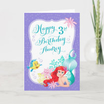 Ariel | Under the Sea Adventure Happy Birthday Card