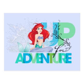 Ariel | Up For Adventure Postcard