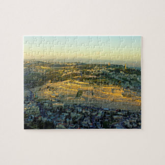 Ariel View of the Mount of Olives Jersalem Israel Jigsaw Puzzle