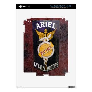 ARIEL VINTAGE MOTORCYCLE ADVERTISING. iPad 3 DECAL