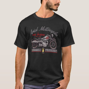 597ce9dc Ariel Motorcycle T-Shirts - T-Shirt Design & Printing | Zazzle
