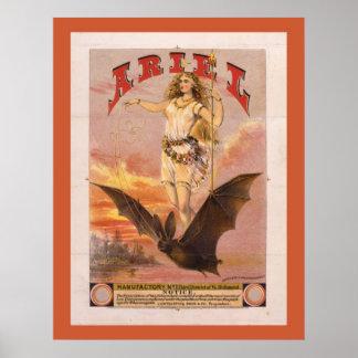 Ariel Warrior Princess Poster