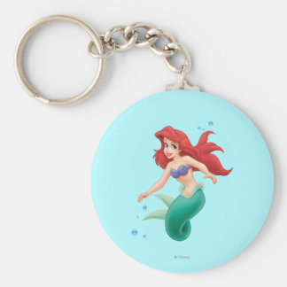 Ariel with Bubbles Keychain