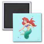 Ariel with Bubbles Refrigerator Magnet