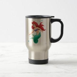 Ariel with Bubbles Travel Mug