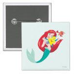 Ariel y amigos pin