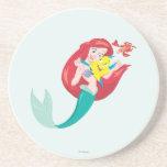 Ariel y amigos posavasos para bebidas