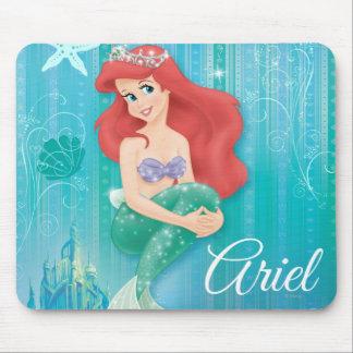 Ariel y castillo alfombrilla de raton