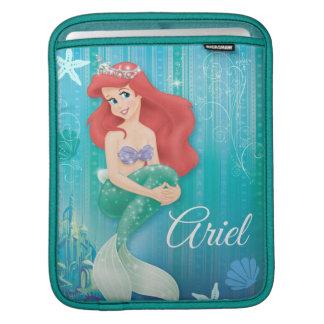 Ariel y castillo manga de iPad