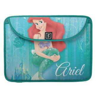 Ariel y castillo funda para macbooks