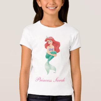 Ariel y castillo playera