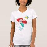 Ariel y platija camisetas