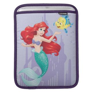 Ariel y platija manga de iPad