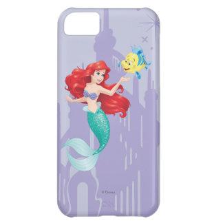 Ariel y platija funda para iPhone 5C