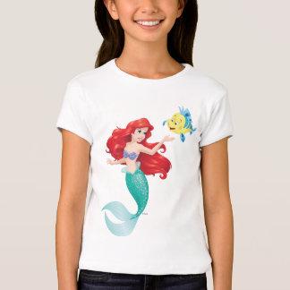 Ariel y platija playera