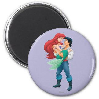 Ariel y príncipe Eric Imanes
