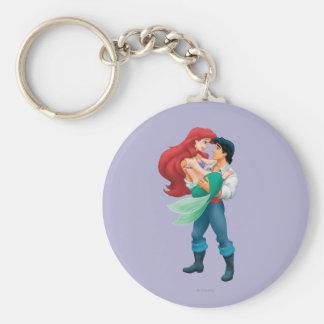 Ariel y príncipe Eric Llavero