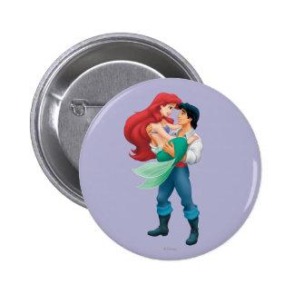 Ariel y príncipe Eric Pins