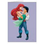 Ariel y príncipe Eric Tarjeton